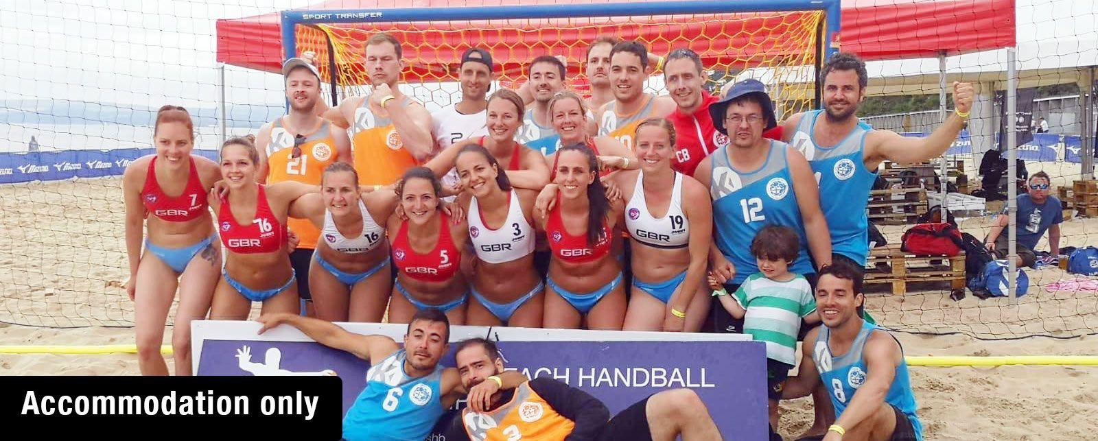 Bournemouth Beach Handball (Accommodation only)